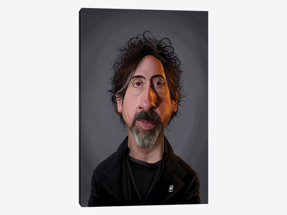 Tim Burton  by Rob Snow 1-piece Art Print