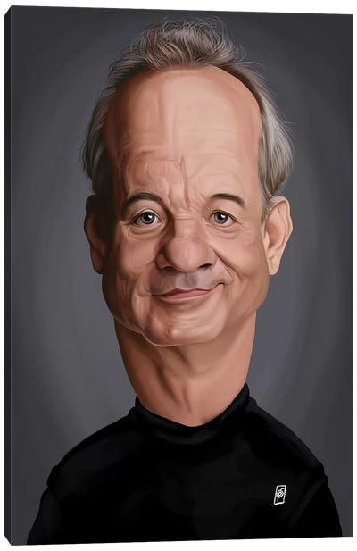 Bill Murray Canvas Art Print