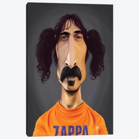 Frank Zappa Canvas Print #RSW267} by Rob Snow Canvas Wall Art