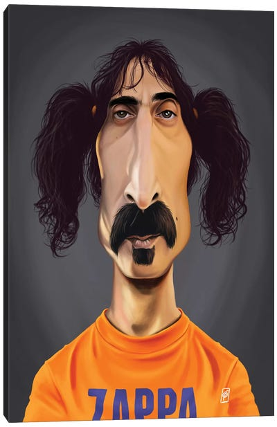Frank Zappa Canvas Art Print