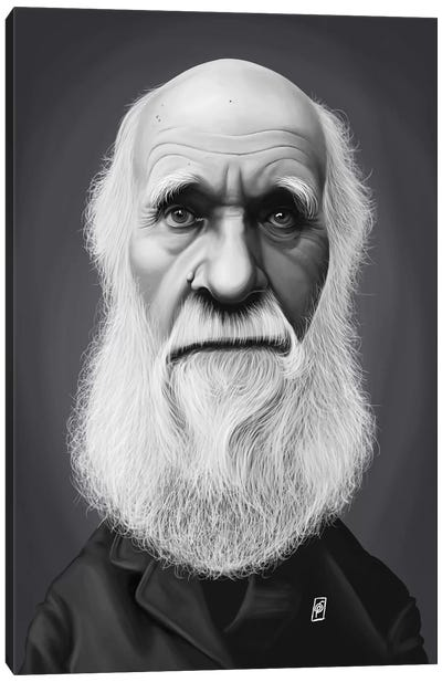 Charles Darwin Canvas Art Print