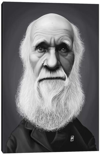Charles Darwin Canvas Art Print