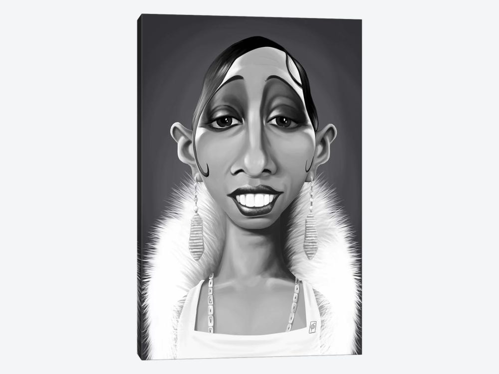 Josephine Baker by Rob Snow 1-piece Canvas Artwork