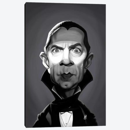Bela Lugosi Canvas Print #RSW277} by Rob Snow Art Print