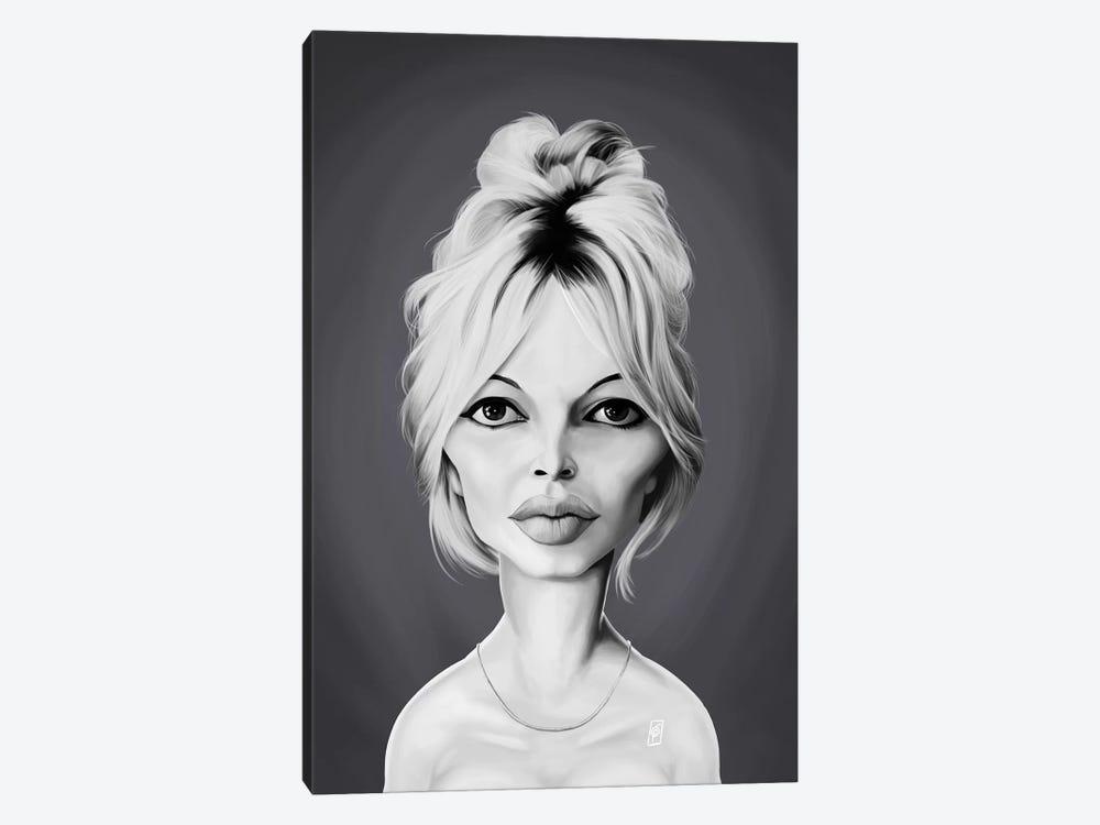 Brigitte Bardot by Rob Snow 1-piece Canvas Print