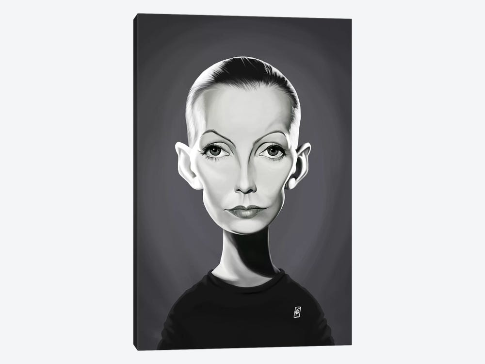 Greta Garbo by Rob Snow 1-piece Art Print