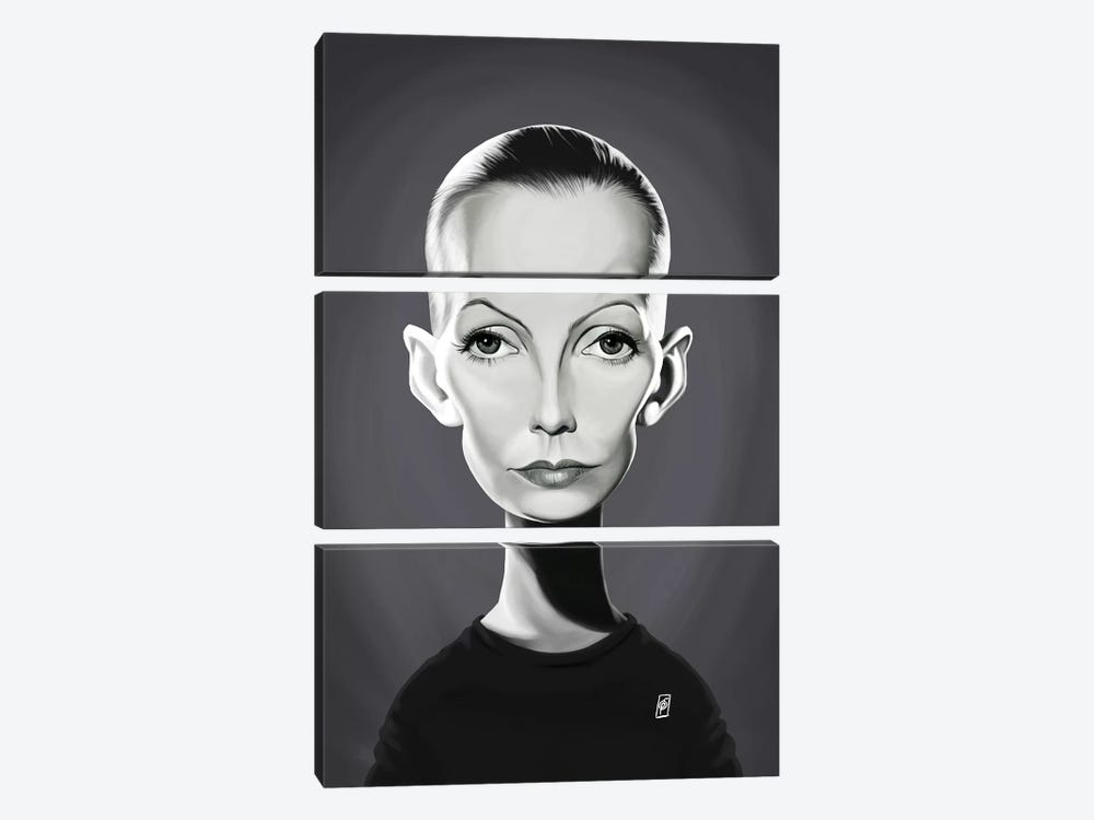 Greta Garbo by Rob Snow 3-piece Art Print