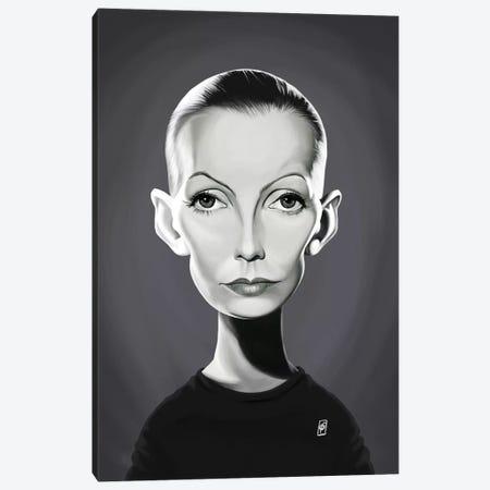 Greta Garbo Canvas Print #RSW283} by Rob Snow Canvas Art Print