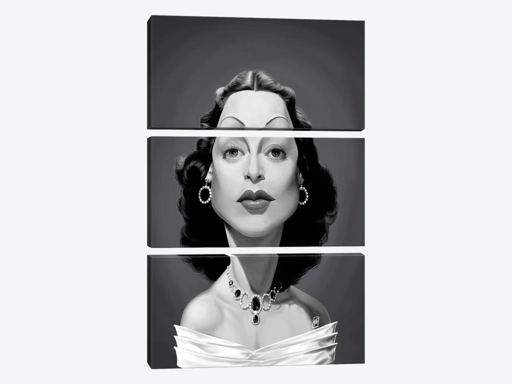 Hedy Lamarr by Rob Snow 3-piece Canvas Art