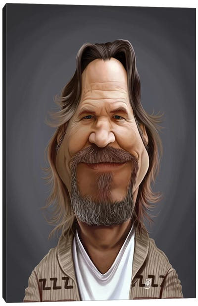 Jeff Bridges Canvas Art Print