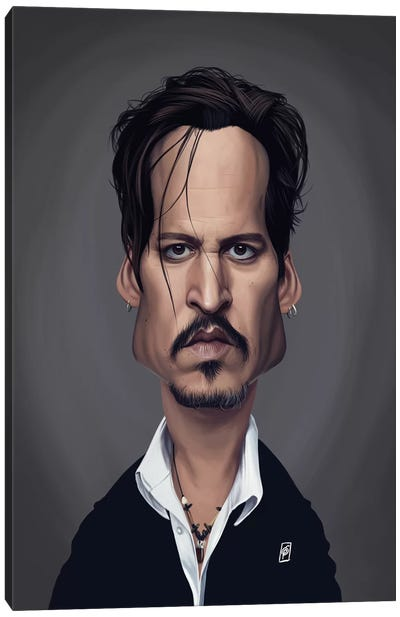 Johnny Depp Canvas Art Print