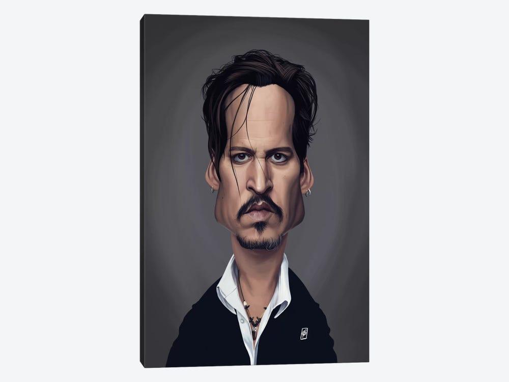 Johnny Depp by Rob Snow 1-piece Canvas Wall Art