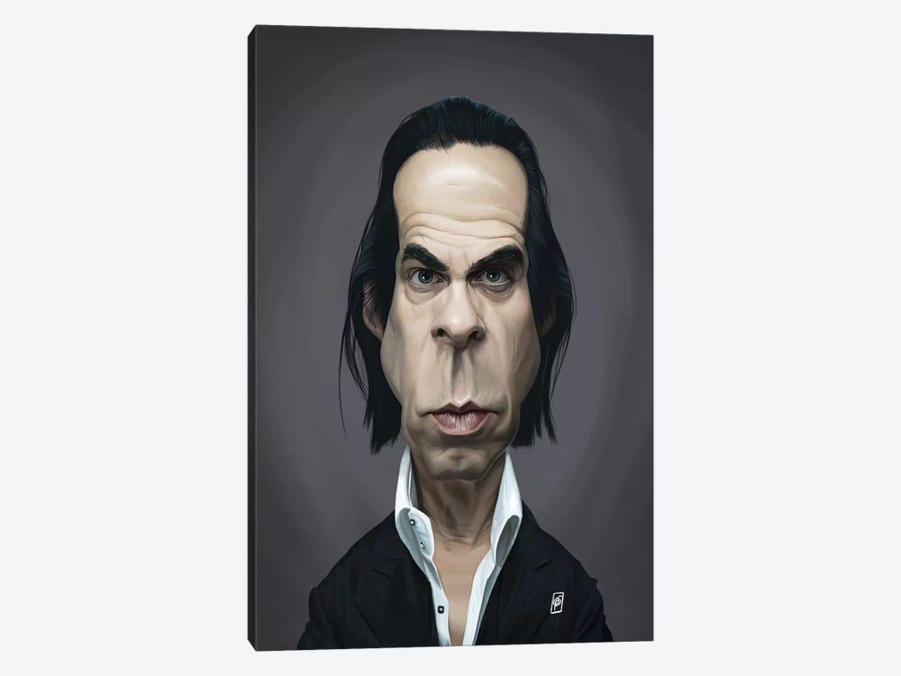 Nick Cave by Rob Snow 1-piece Art Print