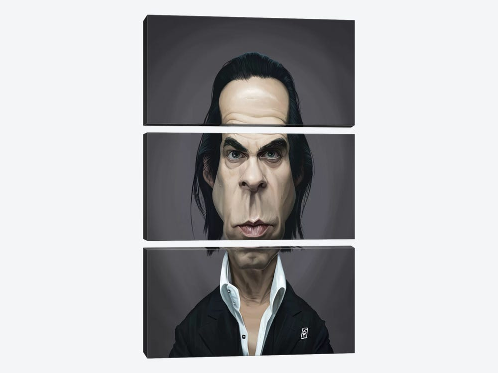 Nick Cave by Rob Snow 3-piece Art Print