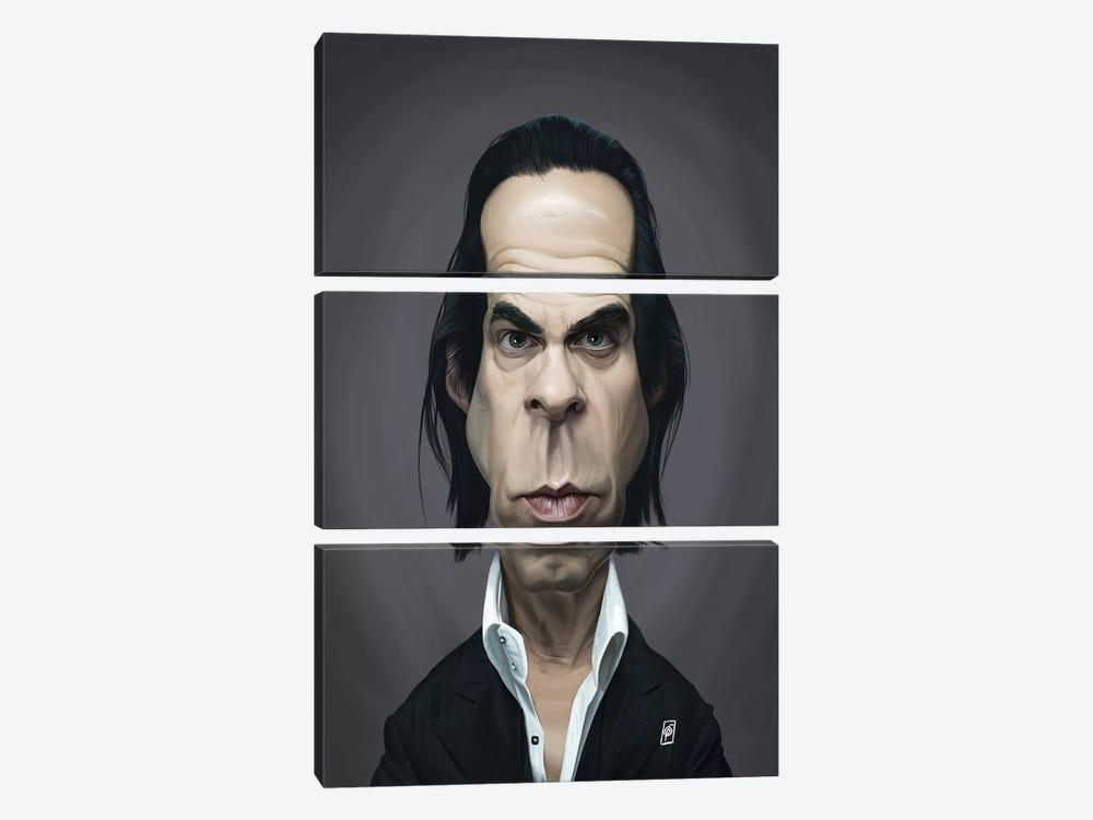 Nick Cave by Rob Snow 3-piece Art Print