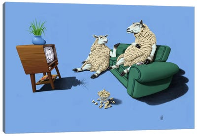 Sheep III Canvas Art Print