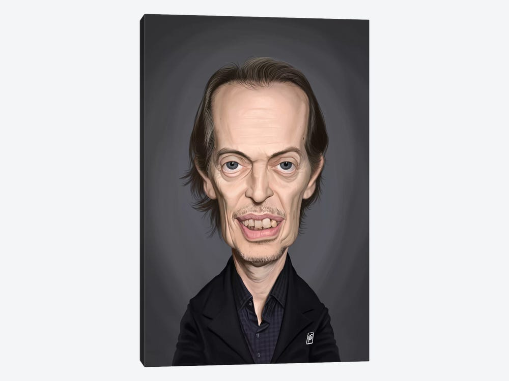 Steve Buscemi by Rob Snow 1-piece Canvas Art