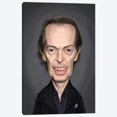 Steve Buscemi Canvas Print #RSW291} by Rob Snow Canvas Wall Art
