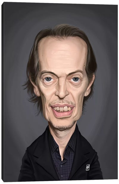 Steve Buscemi Canvas Art Print