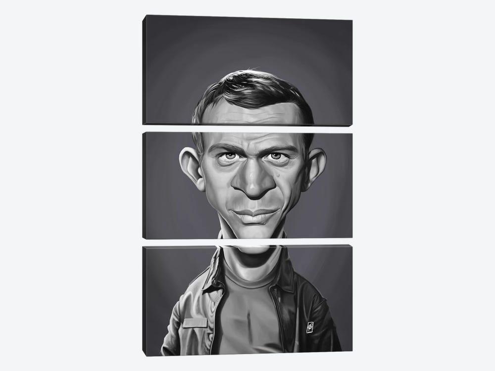 Steve McQueen by Rob Snow 3-piece Art Print
