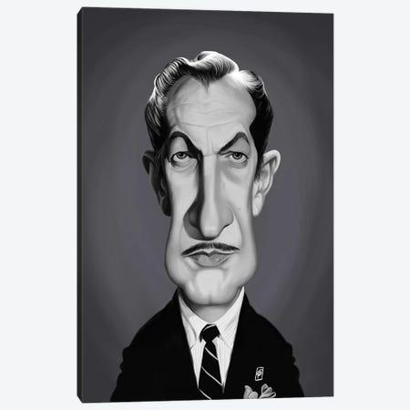 Vincent Price Canvas Print #RSW293} by Rob Snow Canvas Artwork