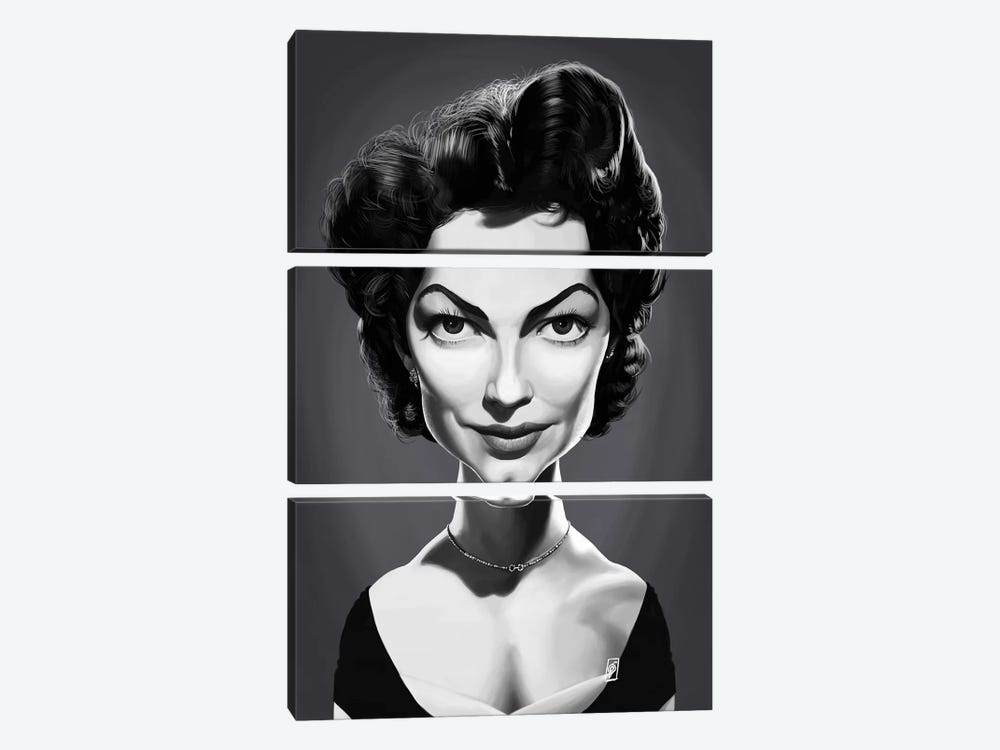 Ava Gardner  by Rob Snow 3-piece Art Print