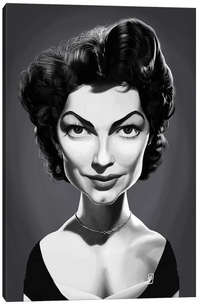 Ava Gardner  Canvas Art Print