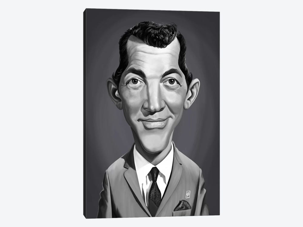 Dean Martin  by Rob Snow 1-piece Canvas Art