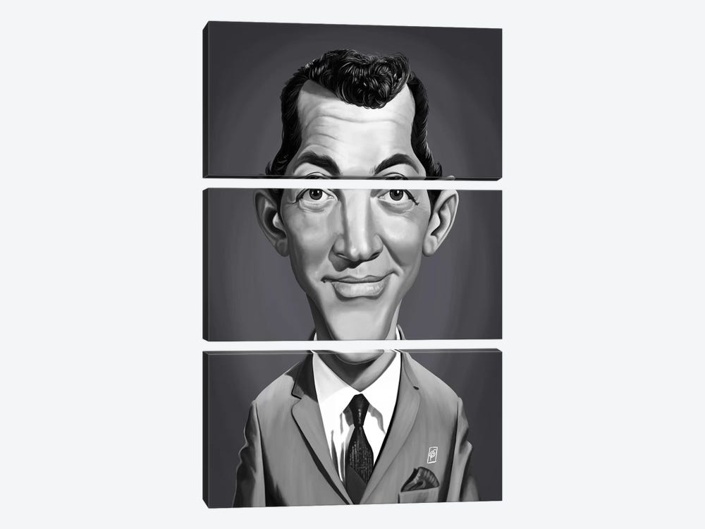 Dean Martin  by Rob Snow 3-piece Canvas Art