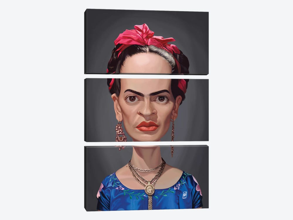 Frida Kahlo  by Rob Snow 3-piece Canvas Artwork