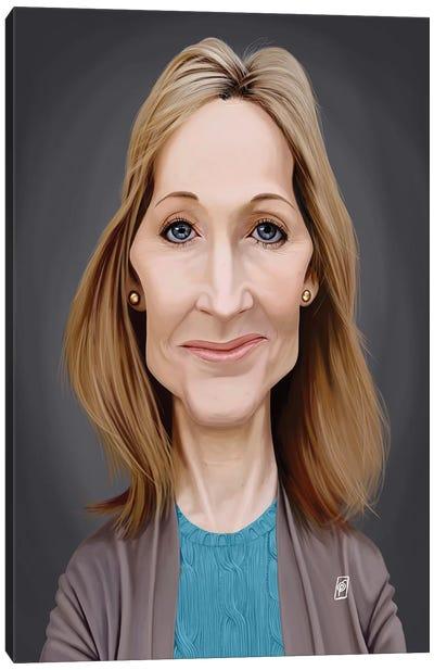J.K. Rowling  Canvas Art Print