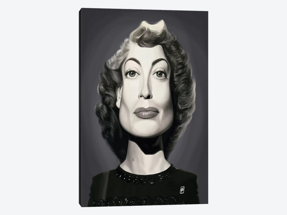 Joan Crawford  by Rob Snow 1-piece Canvas Artwork