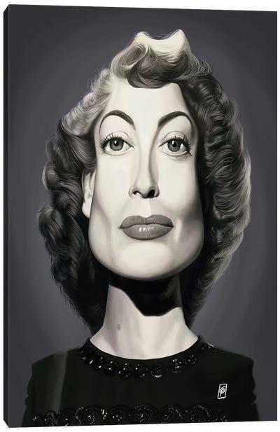 Joan Crawford  Canvas Art Print