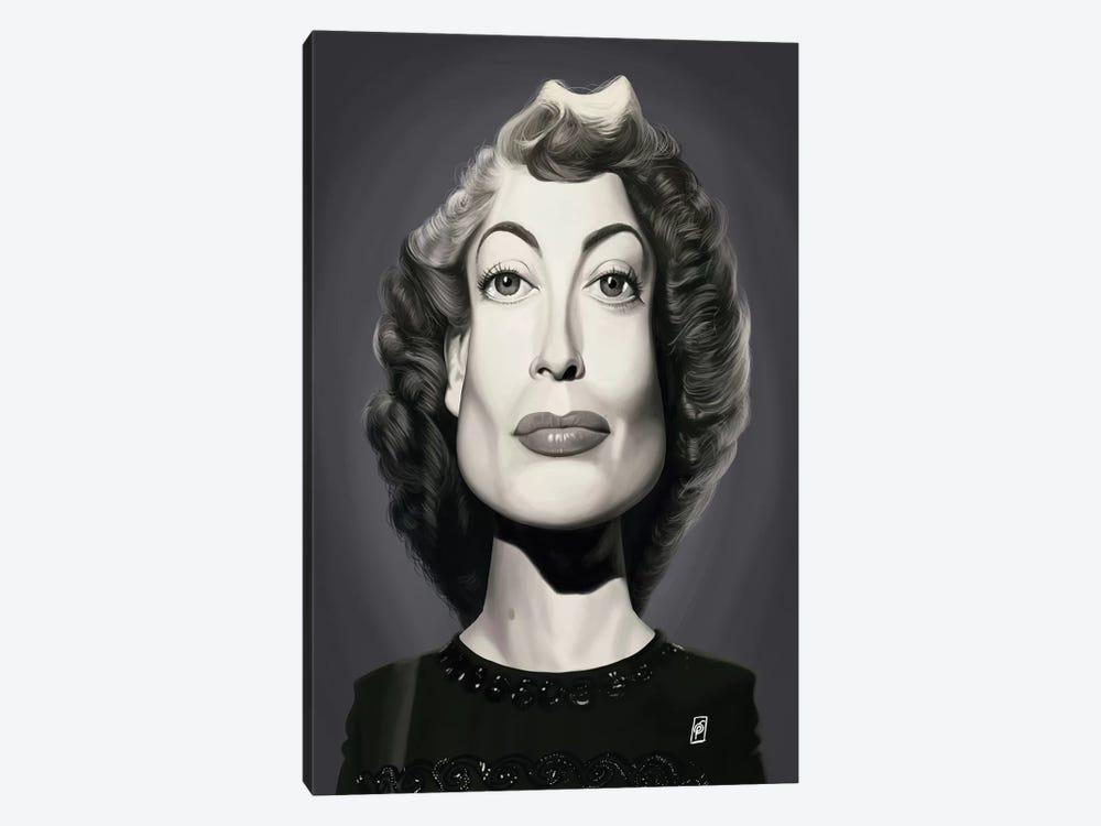Joan Crawford  by Rob Snow 1-piece Canvas Artwork