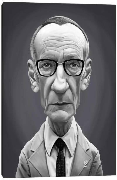 William Burroughs  Canvas Art Print