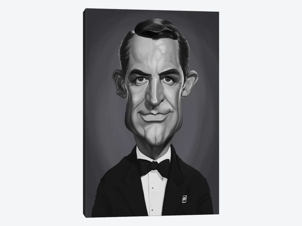 Cary Grant by Rob Snow 1-piece Canvas Wall Art