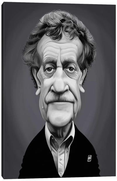 Kurt Vonnegut Canvas Art Print