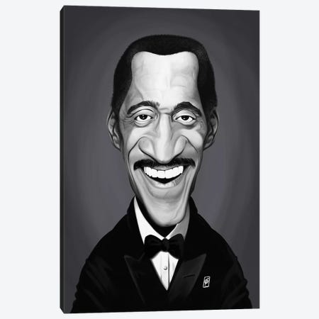 Sammy Davis Jr. Canvas Print #RSW308} by Rob Snow Canvas Wall Art