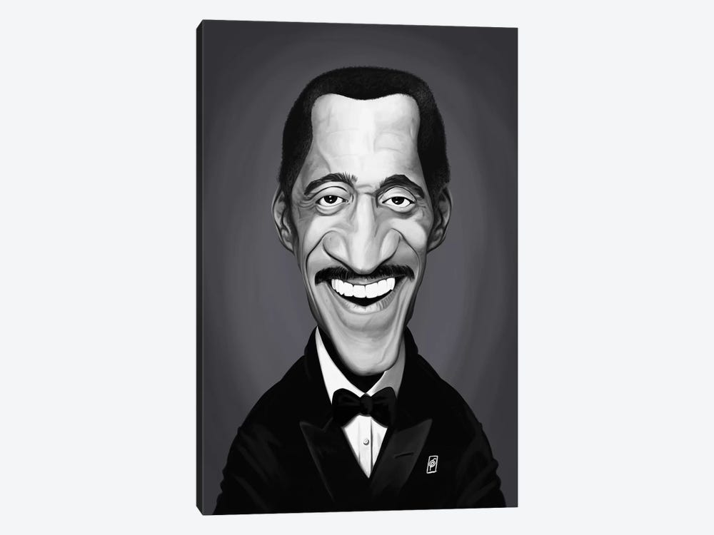 Sammy Davis Jr. by Rob Snow 1-piece Art Print