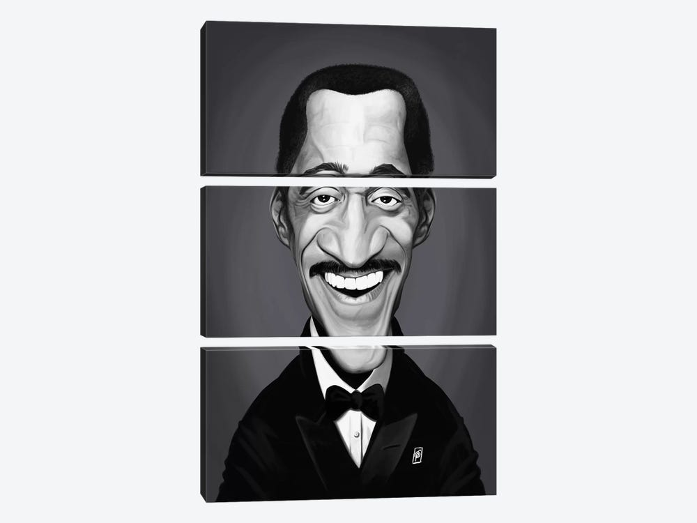 Sammy Davis Jr. by Rob Snow 3-piece Canvas Art Print