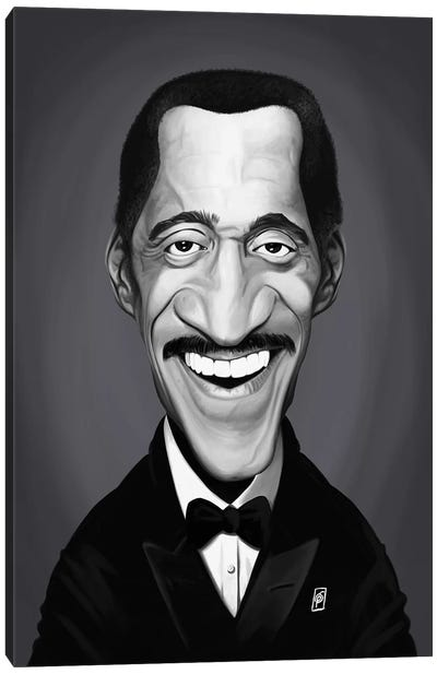 Sammy Davis Jr. Canvas Art Print