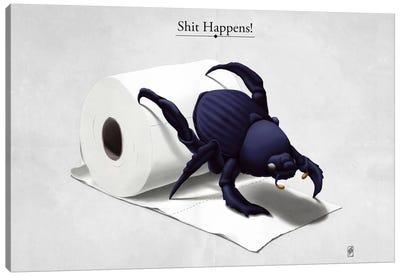 Shit Happens! Canvas Art Print