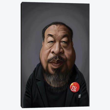 Ai Weiwei Canvas Print #RSW318} by Rob Snow Art Print