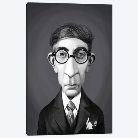 Constantine P. Cavafy Canvas Print #RSW319} by Rob Snow Canvas Art Print