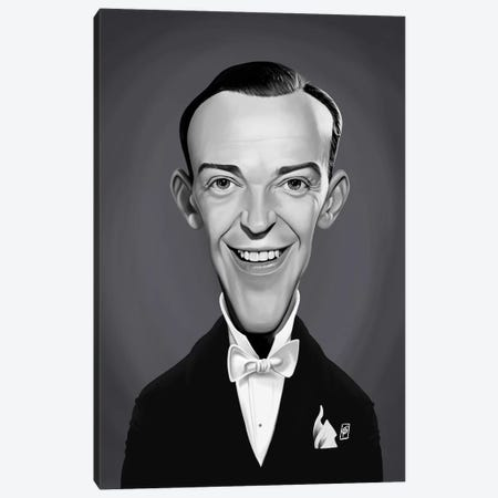 Fred Astaire Canvas Print #RSW320} by Rob Snow Canvas Art