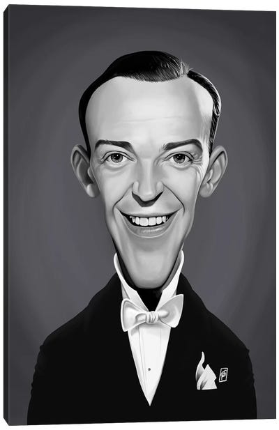 Fred Astaire Canvas Art Print