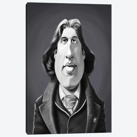 Oscar Wilde Canvas Print #RSW323} by Rob Snow Canvas Wall Art