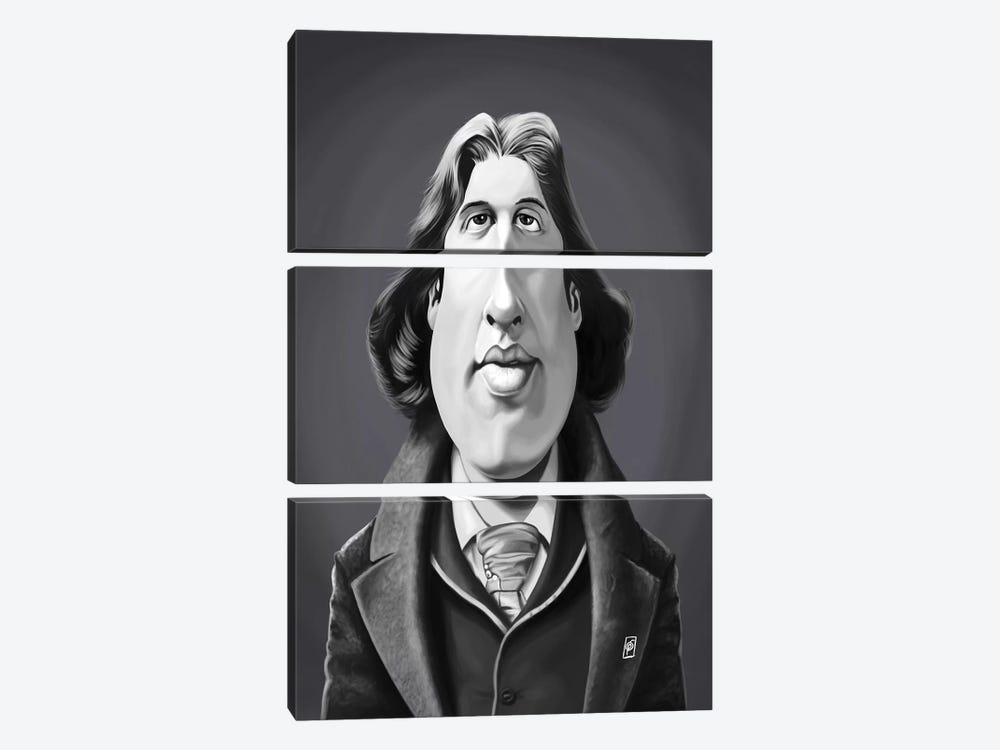 Oscar Wilde by Rob Snow 3-piece Canvas Art