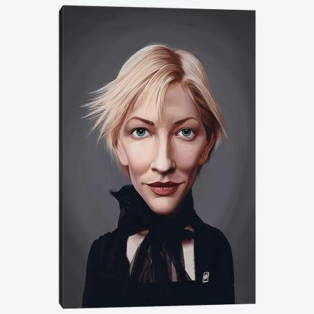 Cate Blanchett Canvas Print #RSW325} by Rob Snow Canvas Art Print