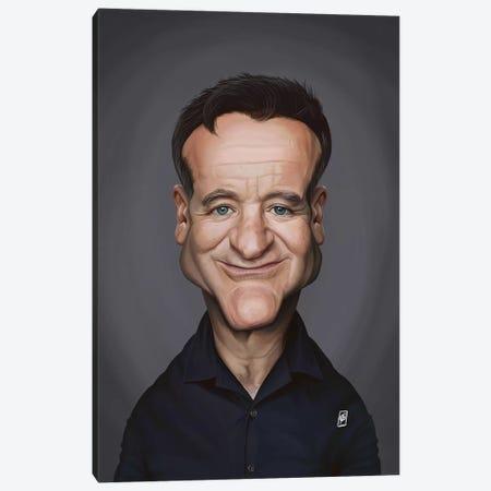 Robin Williams Canvas Print #RSW326} by Rob Snow Art Print
